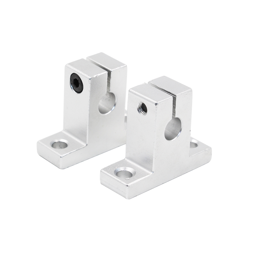Reasonable 4pcs/lot Linear Rail Shaft Support Sk8 Aluminum Block 8mm For Table 3d Printers Parts Sliding Router Bracket Part Refreshment Office Electronics Computer & Office