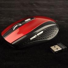 Wireless Ergonomic Mouse 6 Keys Power Switch