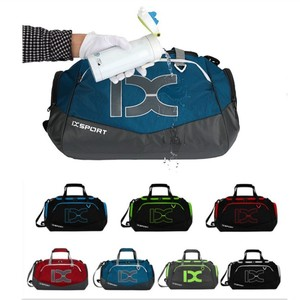 Image 5 - Sac à main imperméable 40l, sac pour gymnastique, sec et humide séparé, simple sac à bandoulière pour les entraînements, sac de voyage