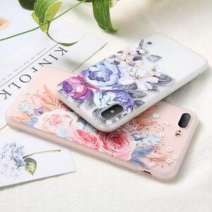 Image 4 - KISSCASE 3D De Fleurs En Relief TPU étui de téléphone pour xiaomi Redmi Note 7 6 5 Pro 4 4X 4A 5A 5 Plus 6A 6 Pro Redmi ALLER coque souple Couverture