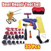 Tools Kit Paintless Car Body Dent Repair Tools Set Tool To Remove Dents Auto Repair Tool Dent Puller Glue for Gun Slide Hammer