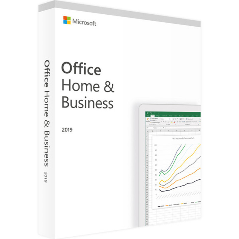 Image 3 - Microsoft Office Home & Business 2019 Product Key Code 1 User License Retail Boxed Compatible with Mac Windows-in Office Software from Computer & Office