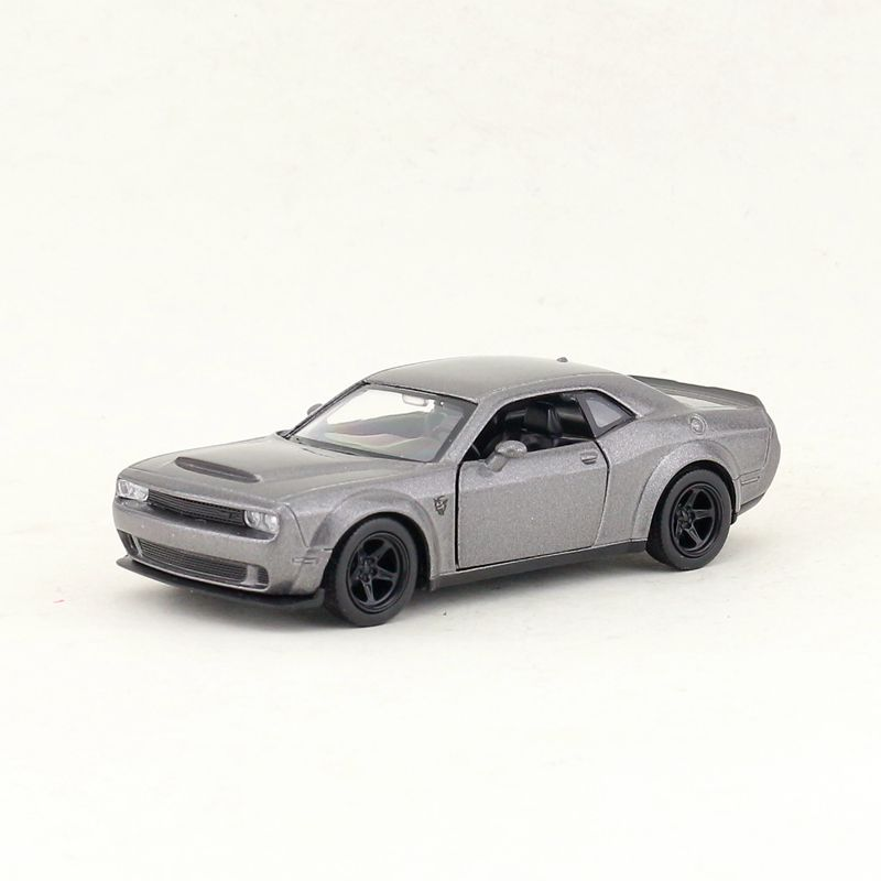 RMZ City/1:36 Scale/Diecast Toy Car Model/Dodge Challenger SRT Demon/Diecast Metal Pull Back Model/Collection/Gift For Kid