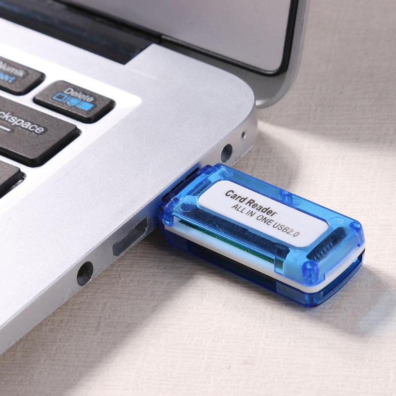 4 In 1 Card Reader Lector Micro Sd Usb Cardreader Lector Sd Portable 4 In 1 Memory Card Reader Lector De Micro Sd