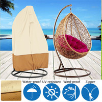 Anti UV Hanging Swing Chair Protector Dust Proof Cover Veranda Cacolet Waterpoof Shade Oxford Covers Bosun Chair Maintenance