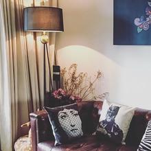 цены на Nordic LED Standing Light  Retro Lofe Floor Lamps Bedroom Living Room Standing Lamp Decor Floor Lights Hotel Lighting Fixtures  в интернет-магазинах