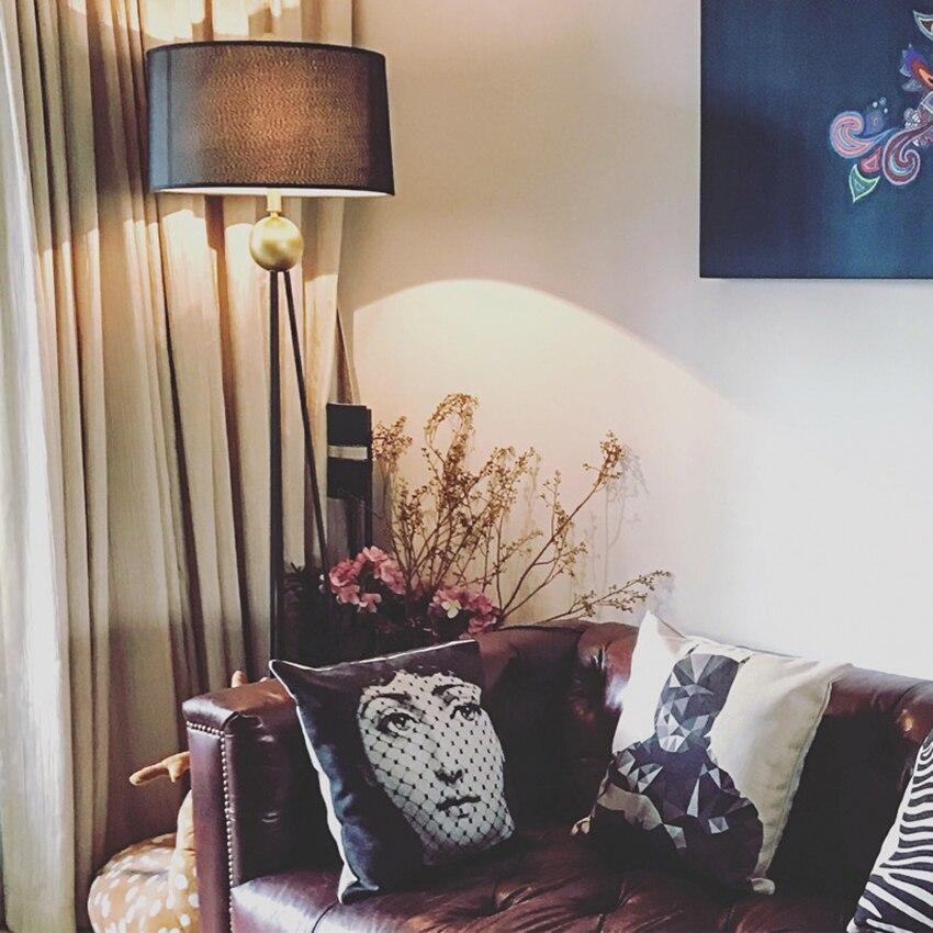 Nordic LED Standing Light Retro Lofe Floor Lamps Bedroom Living Room Standing Lamp Decor Floor Lights Hotel Lighting Fixtures