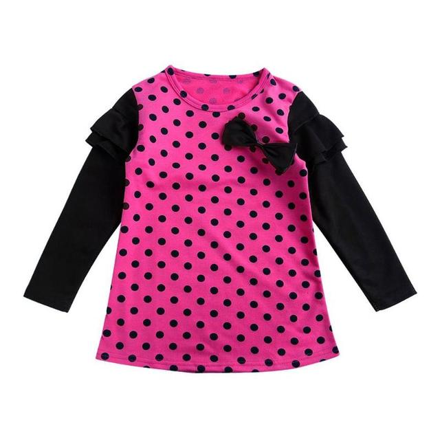 Spring Autumn Long Sleeves Children Girl Clothes Casual School Dress for Girls CuteTutu Dress Kids Girl Party Wear Clothing