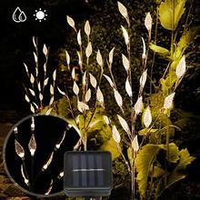 цены на Path Solar Powered LED Ground Light Warm White Waterproof Lawn Lamp for Home Garden Courtyard garden lights outdoor  в интернет-магазинах