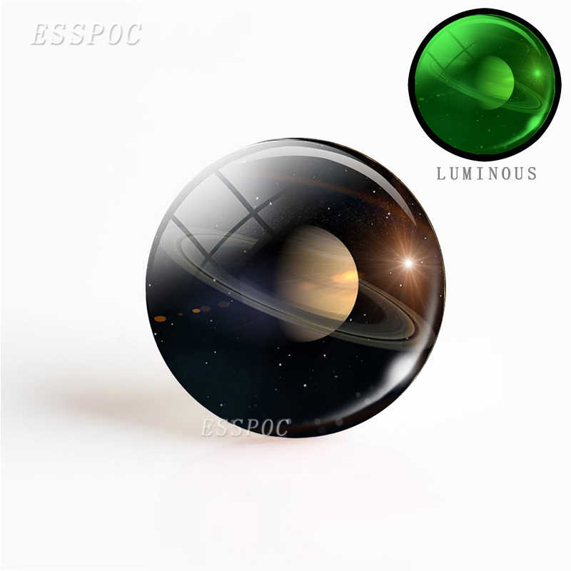 1 PCS ניאון כוכבים Galaxy הערפילית כוכב זכוכית קרושון 25 MM DIY ממצאי תכשיטי זוהר אספקת מלאכת זוהר כהה