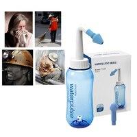 Waterpulse nariz cleaner 300ml neti pot lavagem nasal adultos crianças sistema de lavagem do nariz irritadores sinus Irrigadores orais    -