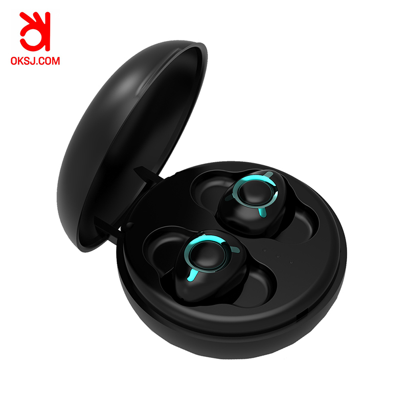 OKSJ T06 Bluetooth Headset 5 0 Business Mini In Ear Sports earphone Waterproof Running wireless earphones