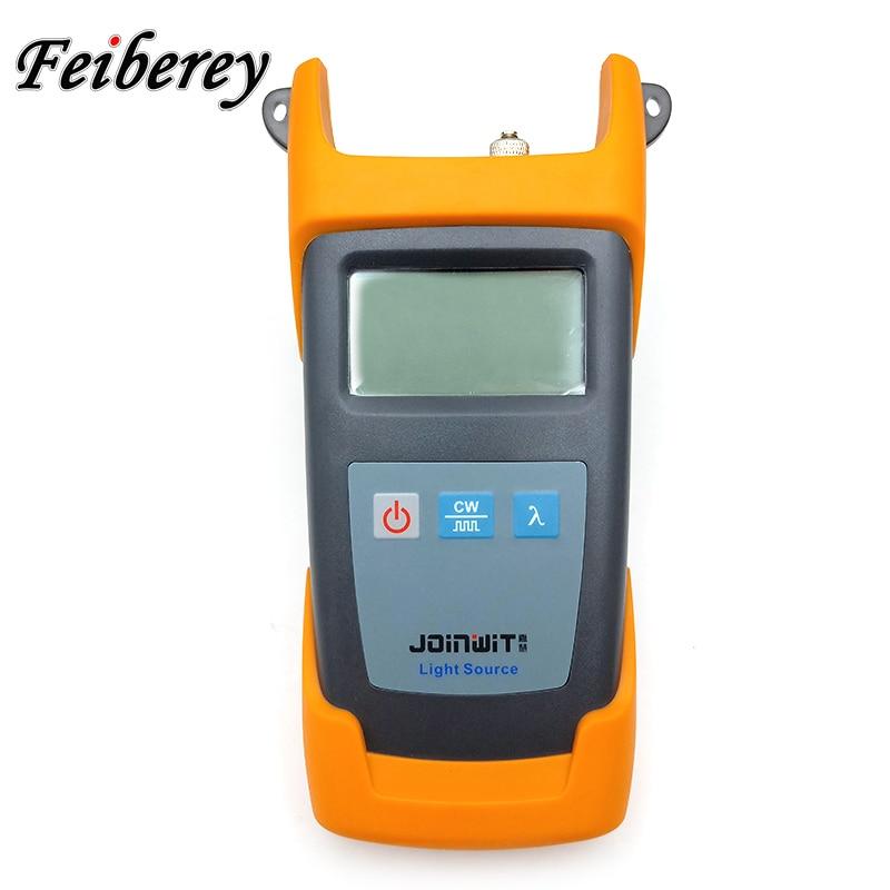 JW3111 1310 1550nm SM Handheld Optical Light Source 1310 1550 CATV Stable Fibre Optique FTTH Tool