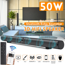 bluetooth Soundbar Subwoofer 3D Home Theater Sound System Sound Bar HIFI Wireless Speaker For TV AUX  for IPhone Android Tablet