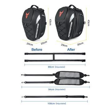 New waterproof motorcycle tail bag
