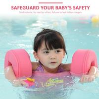 Inflation Free Infant Child Baby Swimming Buoyancy Arm Ring Float Solid Baby Ring Floating Children Bathtub Pools Swim Trainer