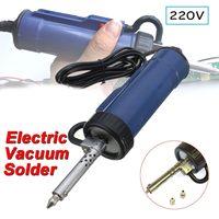30W 220V 50Hz Solder Sucker Electric Vacuum Desoldering Pump Iron Guns Soldering Repair Tool with Nozzle and Drill Rod