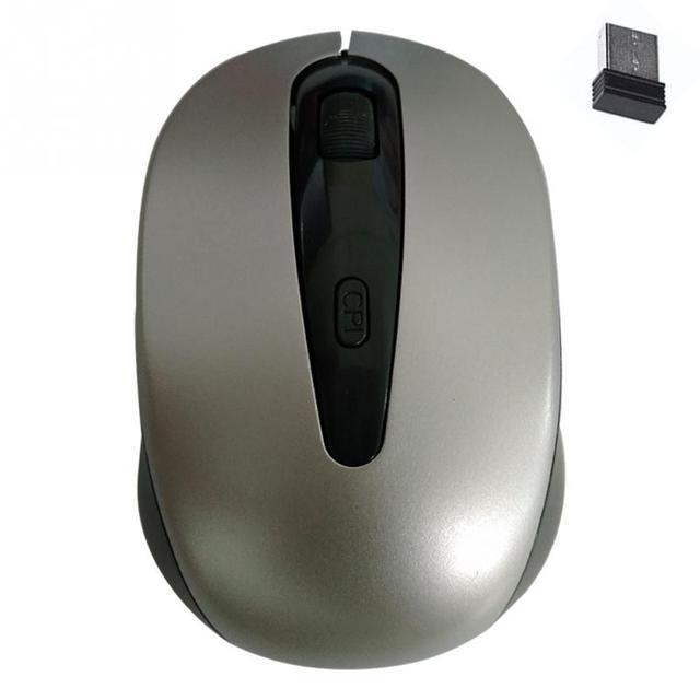 2989e011e9f Fashion 2.4G USB Wireless Optical Mouse 4 keys Scroll wheel 1600DPI 10m  Operating Distance Computer Cordless Laptop 4D PC Mice