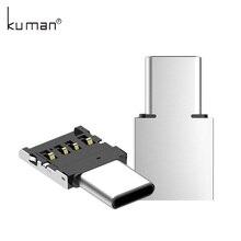 Kuman USB адаптер OTG USB к TypeC или MicorUSB адаптер конвертер для флешки USB флэш-накопитель ручка-накопитель к телефону Мышь Клавиатура