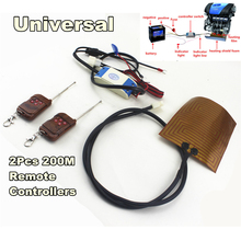 Engine Preheating Heating Car Auto Heater Fan with 2pcs 200M Remote Controllers For oil heater from Engine цена в Москве и Питере