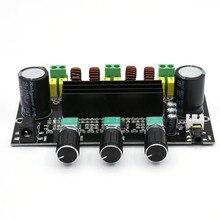 XH-M573 TPA3116D2 80 Вт+ 80 Вт+ 100 Вт 2,1 канальный TPA3116 цифровой усилитель мощности доска бас сабвуфер усилитель