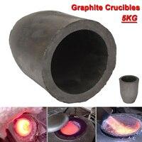 12.5 x 16cm 5kg Casting Clay Graphite Crucibles Refining Melting Copper Aluminium Brass Bulk Density More than 1.71g /cm3 ect