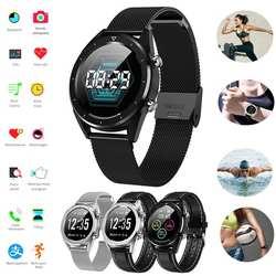 Цветной экран кровяное давление Smartwatch Multi-Sport режим сердечного ритма ЭКГ мониторинг водостойкие умные часы для iOS и Android