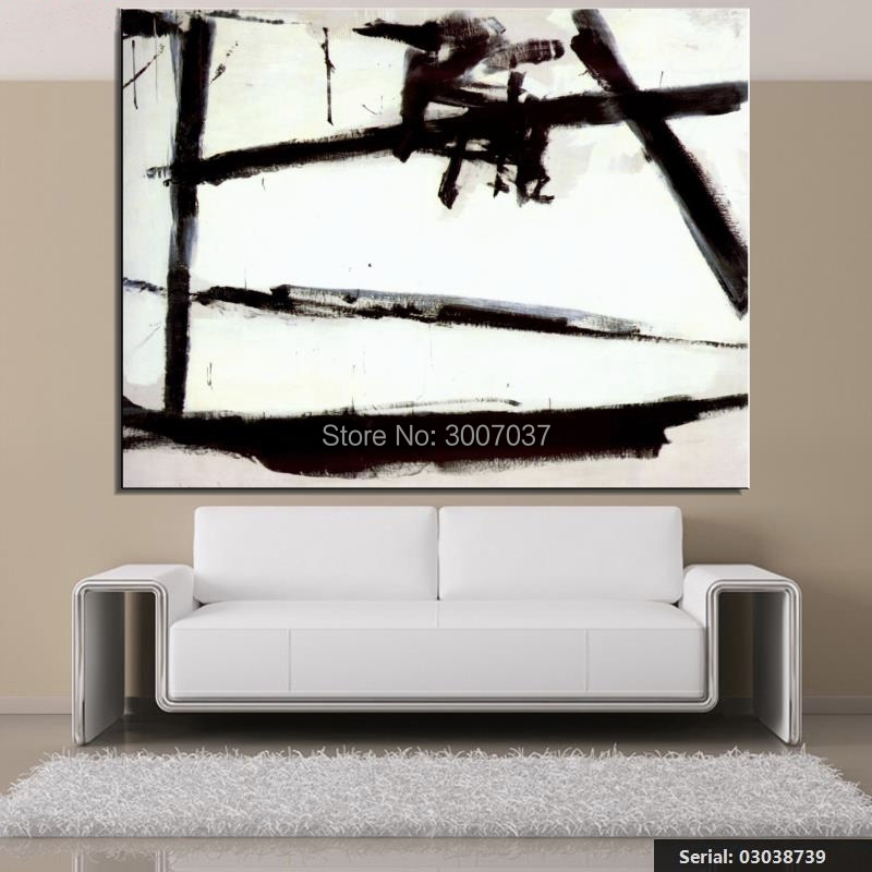 Franz Kline Still life Classical Hand Painted oil Painting Drawing art Unframed Canvas Painting for Home Decor Living Room