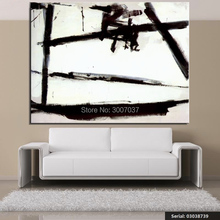 Franz Kline Still life Classical Hand Painted oil Painting Drawing art Unframed Canvas for Home Decor Living Room