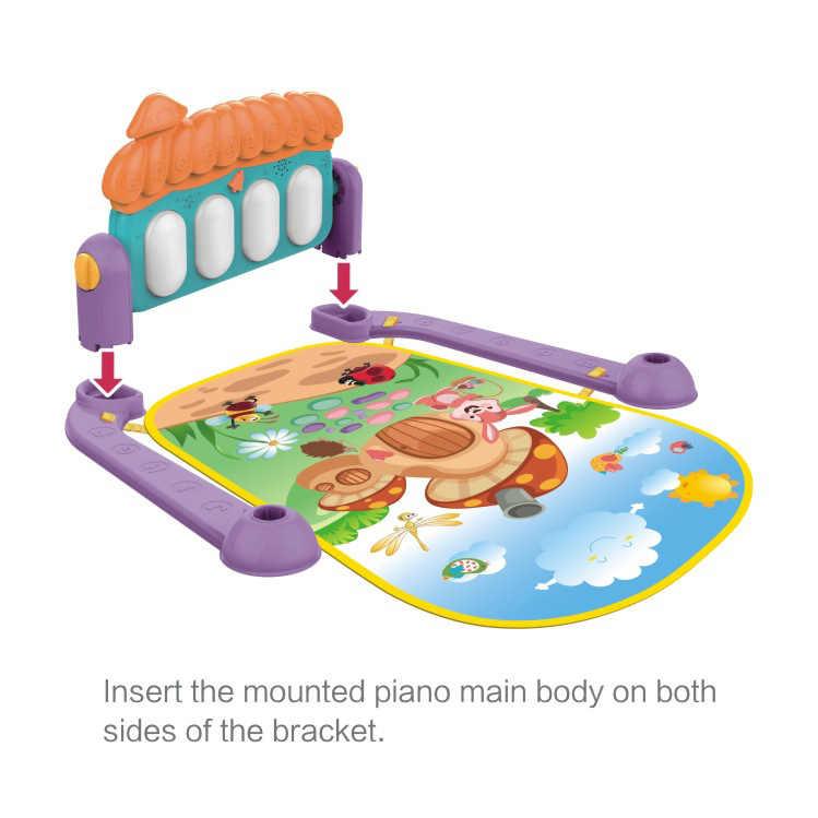 Детский Спортивный Коврик-пазл Tapis обучающая стойка игрушки детский музыкальный игровой коврик с клавиатурой Пианино Коврик для фитнеса подарок для детей