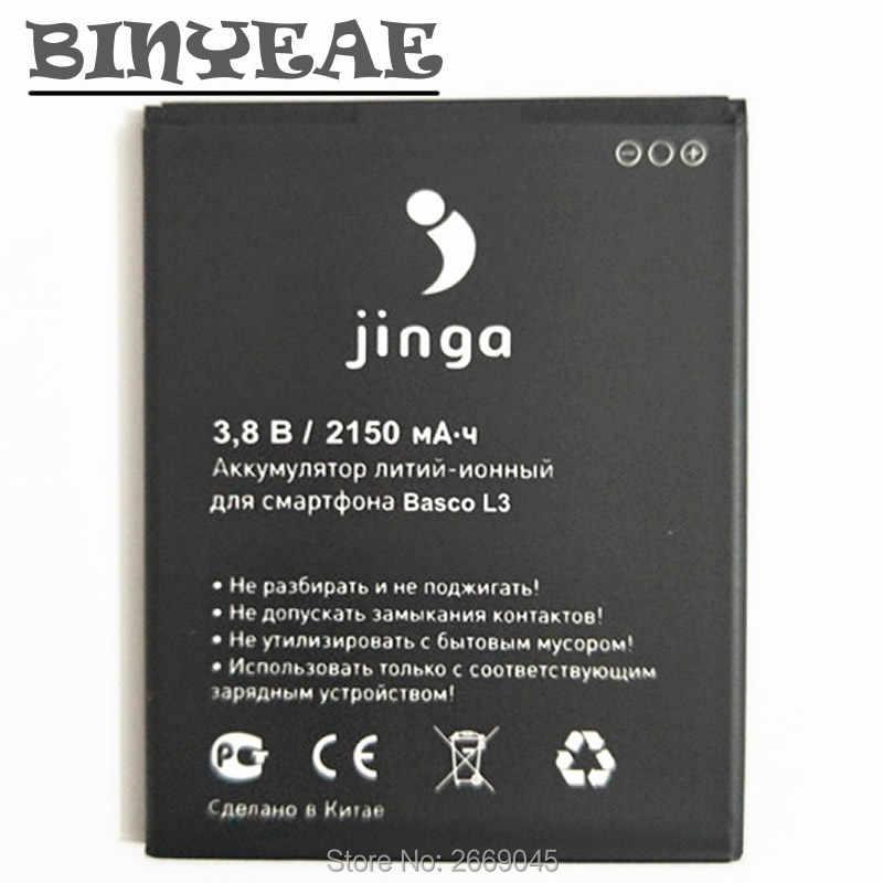 BINYEAE высокое качество Basco L3 2150 мАч батарея для jinga Basco L3 батарея мобильного телефона