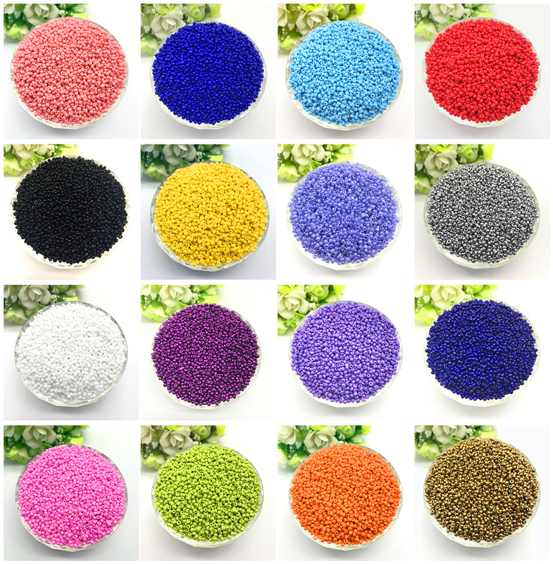 1000pcs 2mm Charm Czech Glass Seed Beads DIY Bracelet Necklace For Jewelry Making Accessories(China)