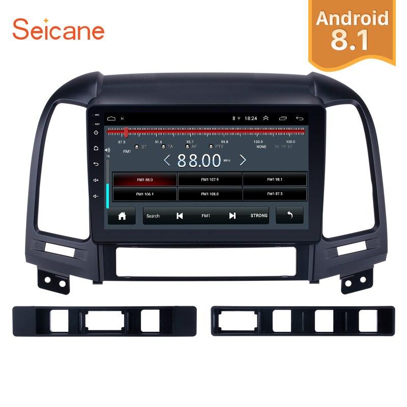 Seicane 2Din HD 9 Android 8 1 Car Radio GPS Head Unit For 2005 2012 HYUNDAI
