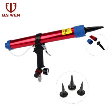 600ml Glue Gun Pneumatic Caulking Gun, Used For Repair and Bonding of Glass Door and Window Sealing