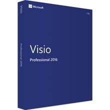 Microsoft Office Visio Professional 2016 для Windows, ключ для загрузки продукта, цифровая доставка, 1 пользователь