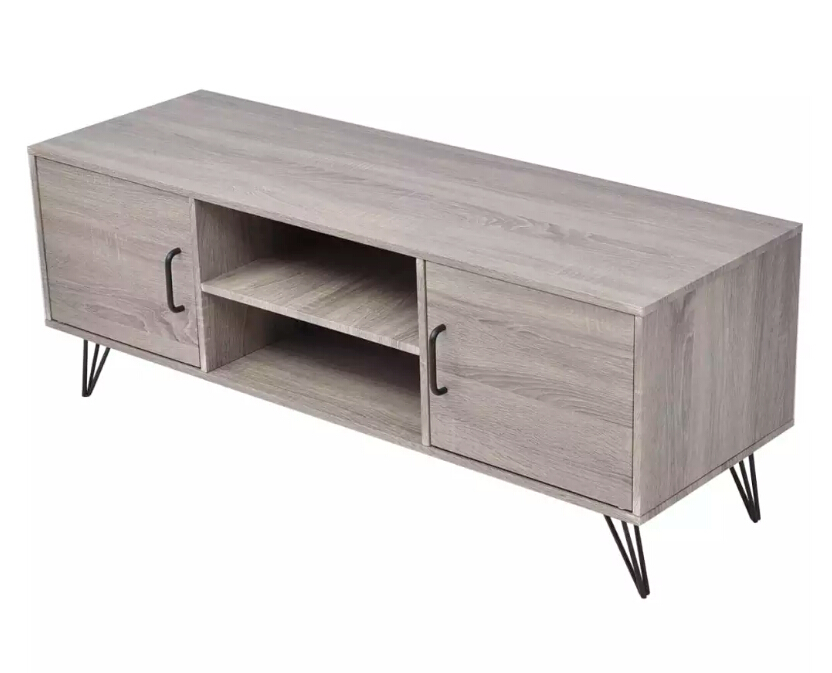VidaXL TV Cabinet 120x40x45 Cm Grey Home Furniture Easy Assembly TV Table Wholesale