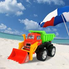 Kids Outdoor Beach Play Sand Excavator Construction Truck Toys Car Molds Summer Beach Party Games Toys Set For Children