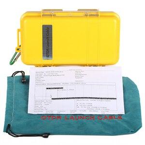 Image 4 - 무료 배송 SC/APC SC/APC OTDR 데드 존 제거기, 파이버 링 500M 광섬유 OTDR 실행 케이블 박스 1Km 2Km SM 1310/1550nm