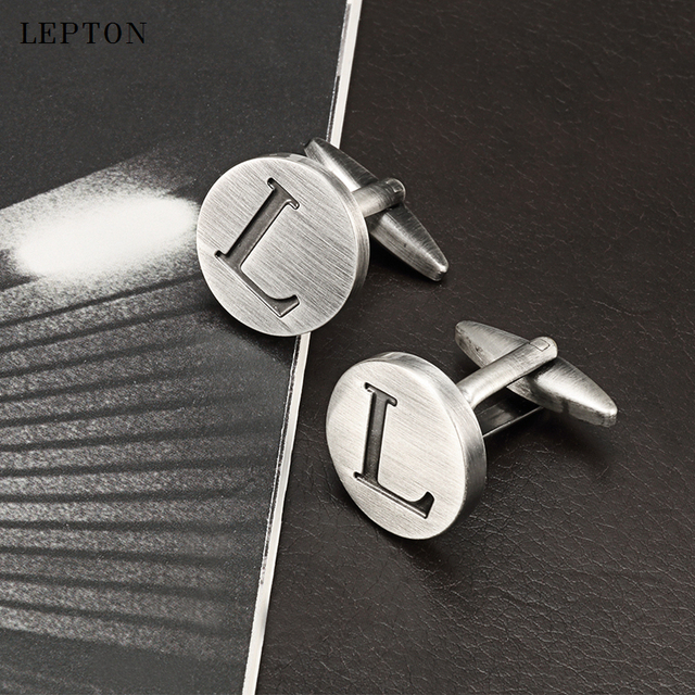 Фото лептон буквы алфавита l запонки для мужчин классические античные