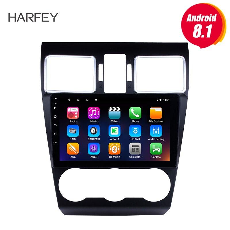 Harfey Android 8.1 TouchScreen Rádio Bluetooth GPS Navi 9