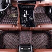 Car Floor Mats For PORSCHE Boxster 987 981 Cayenne 9PA 9YA Cayman 981 987 Macan 95B 970 971 fit 3d 5d car mat