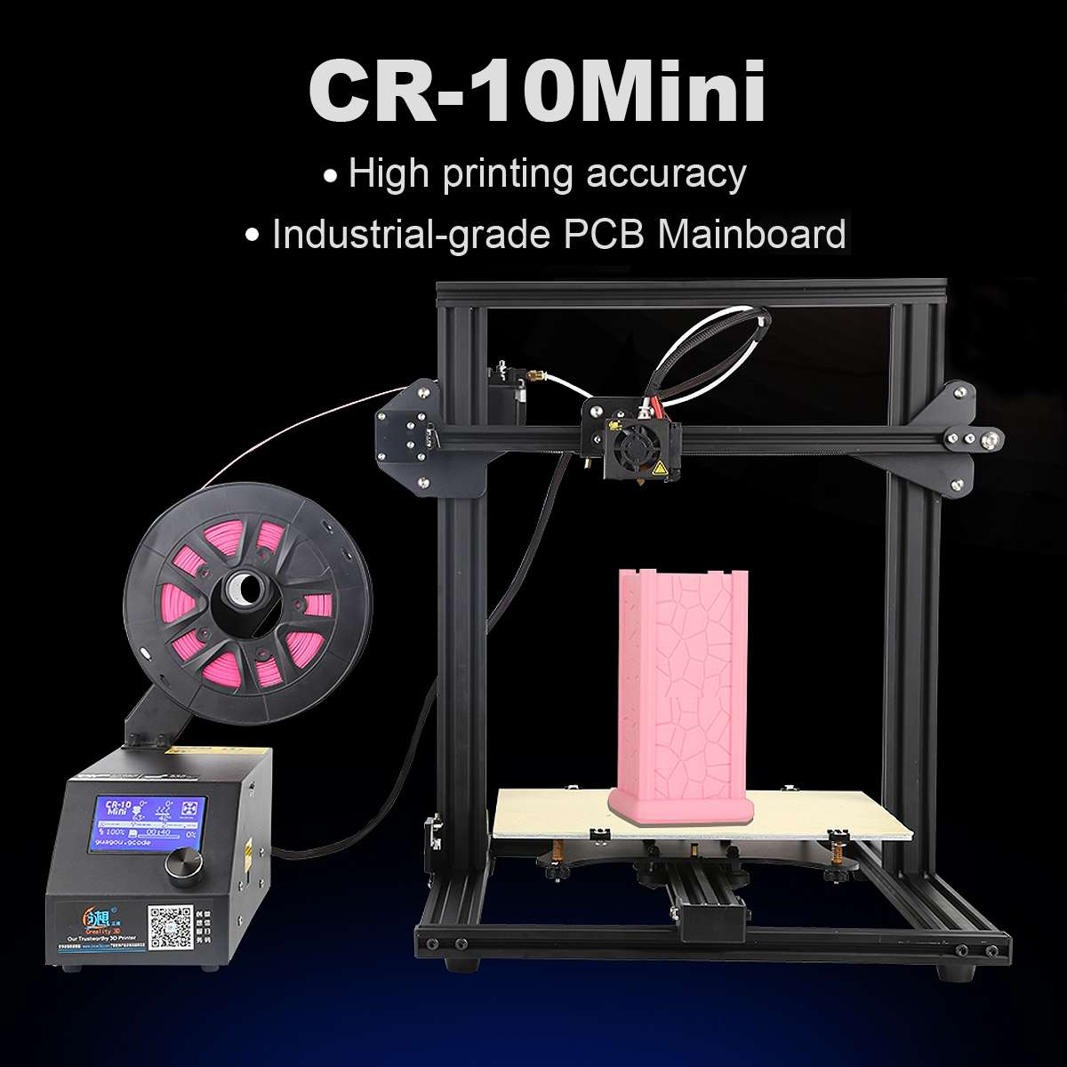 Creality 3D CR-10 3D Kit Stampante 300*220*300mm di Grande Formato di Stampa 1.75mm 0.4mm Ugello FAI DA TE 3D Kit Stampante