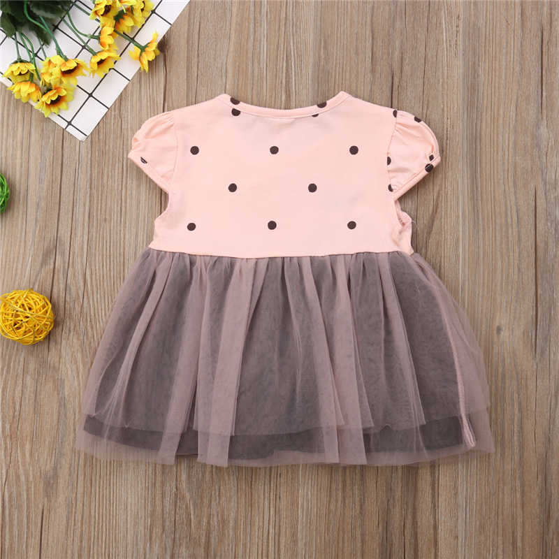 Sleeveless Lovely Children Girls Summer Dress Love Heart Printed Patchwork Summer Pleated Princess Party Dresses