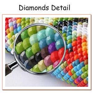 Image 2 - Kruissteek DIY 5D Diamant Saint Seiya Schilderij Home Decor Foto Borduurwerk Patroon Muur Kunstwerk Sticker Volledige Vierkante Boor