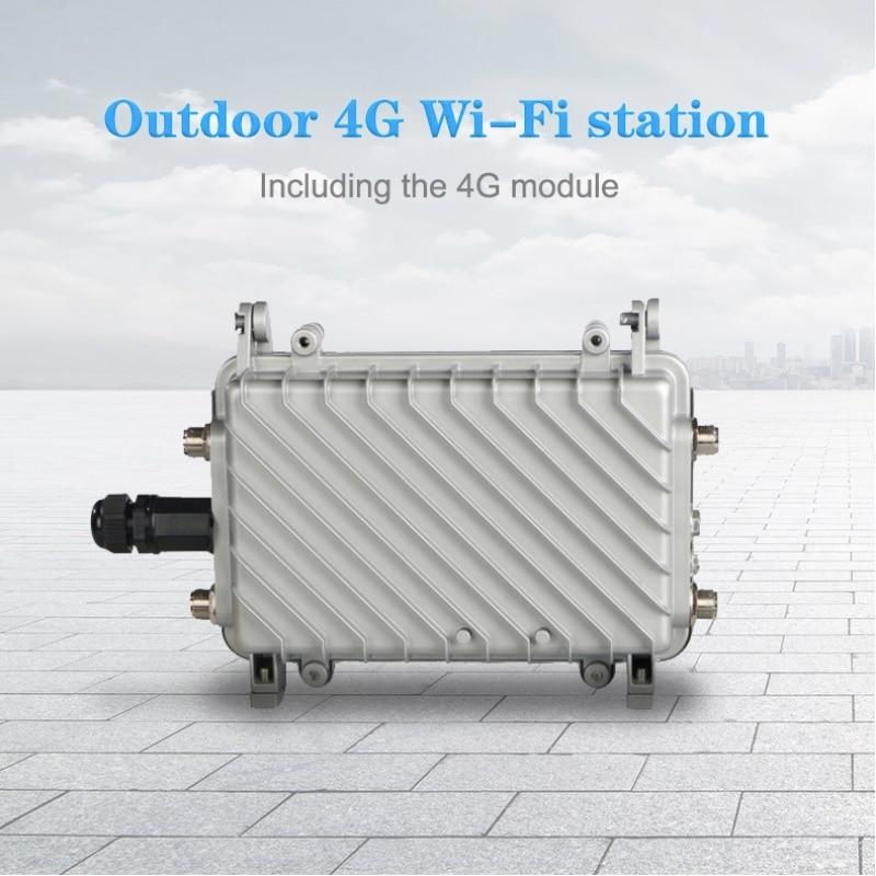 Bezprzewodowy zewnętrzny mobilny Router Wi Fi Router 4G LTE wysoki poziom 3G 4G obciążenia WiFi Gigabit 4G CPE lte bezprzewodowy przemysłowy na świeżym powietrzu w Routery bezprzewodowe od Komputer i biuro na AliExpress - 11.11_Double 11Singles' Day 1