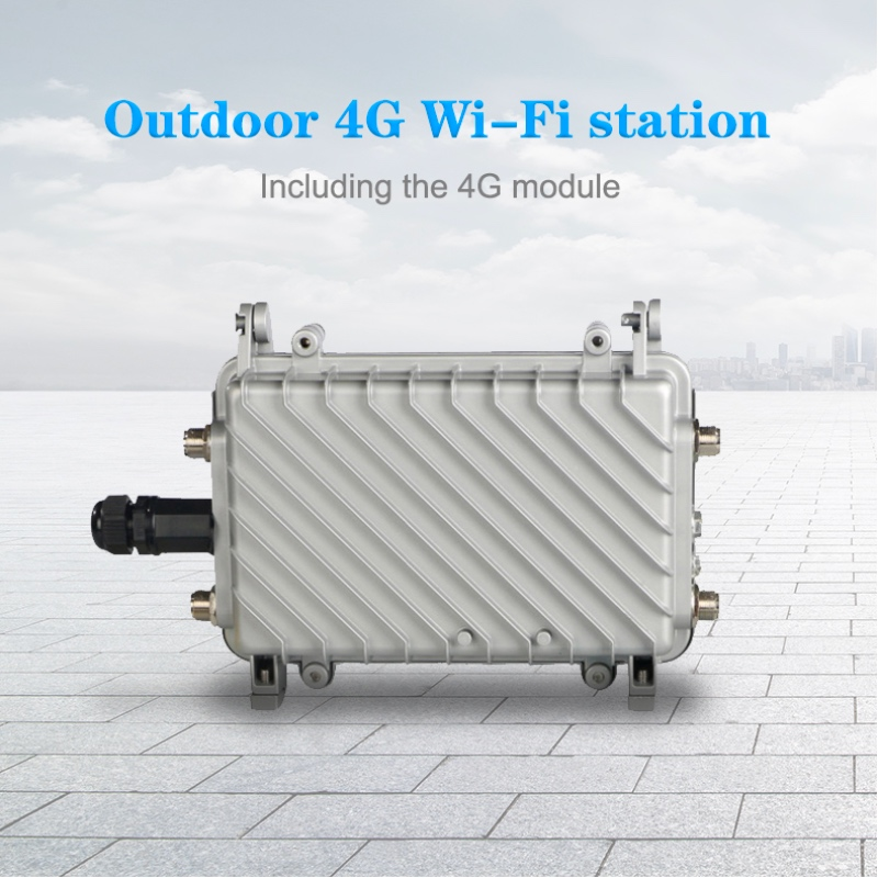 Wireless Outdoor Mobile Wifi Router 4G LTE Router High Level 3G 4G Load WiFi Gigabit  4G CPE Lte Wireless Industrial Outdoor