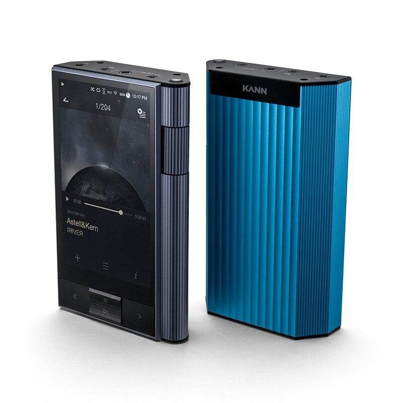IRIVER Astell & Kern KANN 64GB hifi leitor de música Portátil MP3 Embutido AMP carregamento rápido Lossless música Presente feito sob encomenda estojo de couro