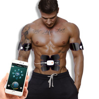 EMS Abdominal Arm Muscle Trainer Electronic Muscle Stimulator Exerciser Machine Body Slimming Fitness Workout Massage Equipment