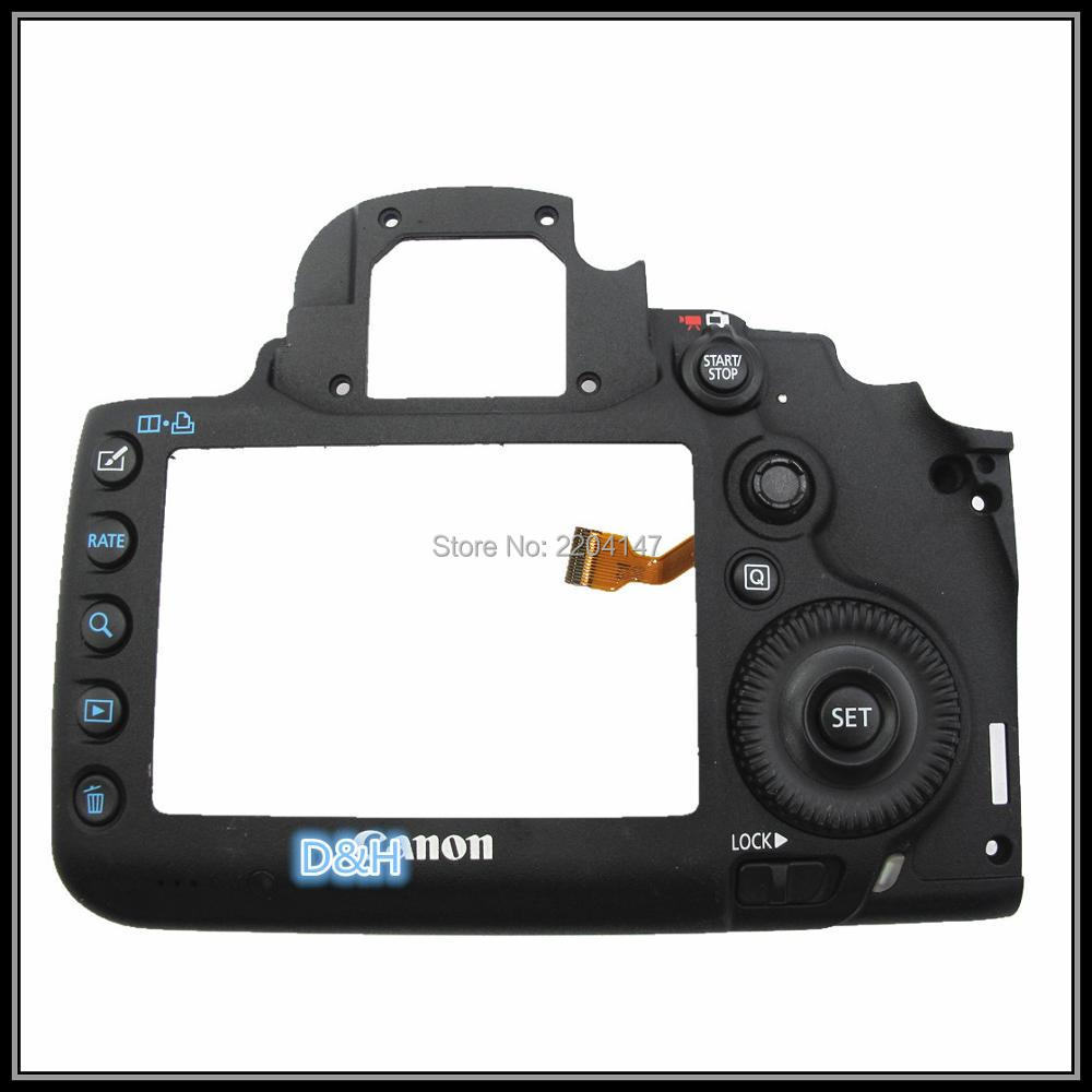 95%NEW 5D3 Back Cover For Canon 5d3 Rear Back Cover 5D Mark Iii Back Shell 5D MARK III Camera Repair Part