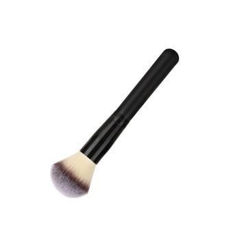 Blush makeup brushes wood handle super soft synthetic fiber hair make-up tools for Loose powder highlighter 50pcs/lot DHL Free